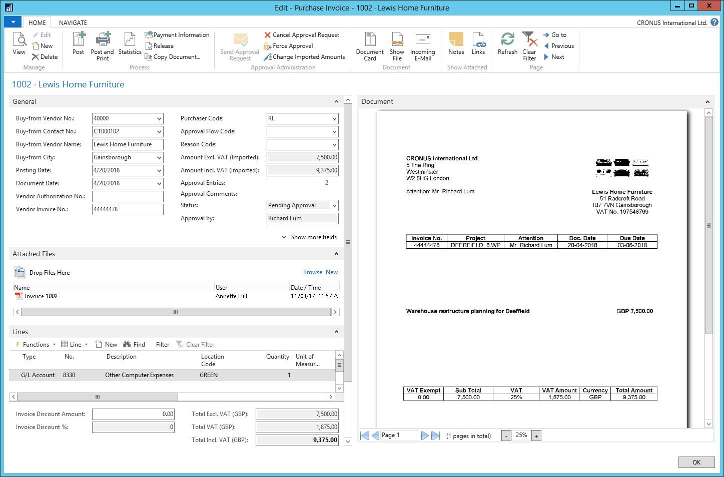 Automatyzacja przetwarzania dokumentów zContinia Document Capture wsystemie ERP, ss3