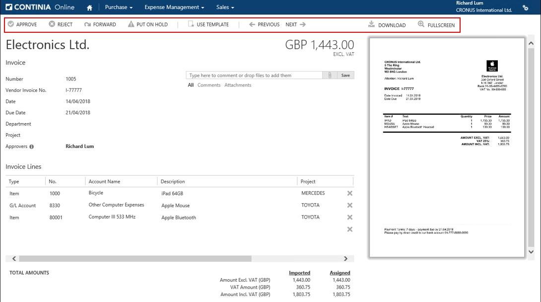 Automatyzacja przetwarzania dokumentów zContinia Document Capture wsystemie ERP, ss5