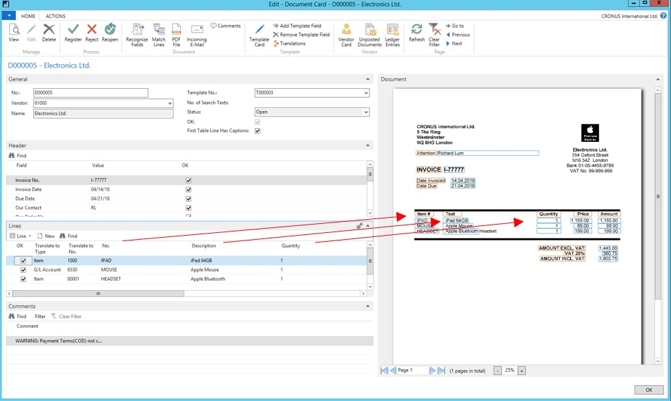 Automatyzacja przetwarzania dokumentów zContinia Document Capture wsystemie ERP, ss2