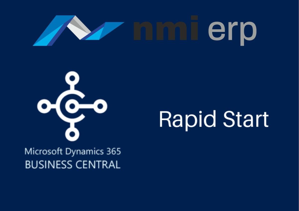 RapidStart w Microsoft Dynamics 365 Business Central
